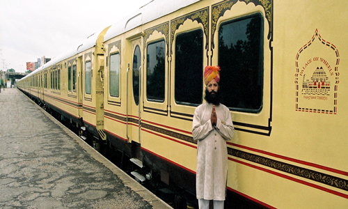 Palace on wheels Now Heritage Palace on wheels