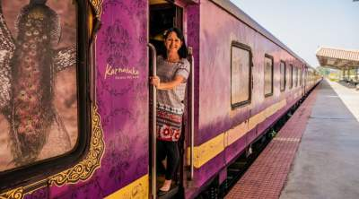The Pride of South India Golden Charriot Train